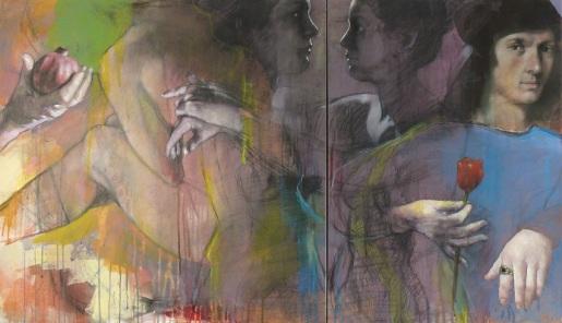 25 - 'L'alba di Agnolo Doni' cm 70x120 2020